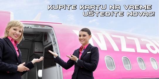 Wizz Air avio karte Temišvar Bolonja